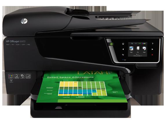 HP Officejet 6600 Drucker Treiber Programmieren Download